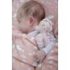 Kép 2/5 - Little Dutch plüss csörgő csikóhal - pink