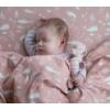Kép 5/5 - Little Dutch plüss csörgő csikóhal - pink