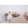 Kép 2/3 - Little Dutch fa mókuskerék csörgő - pink