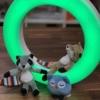 Kép 2/6 - ZAZU Fay-Rex-Otis fali lámpa mágneses plüss figurákkal