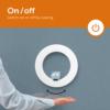 Kép 3/6 - ZAZU Fay-Rex-Otis fali lámpa mágneses plüss figurákkal