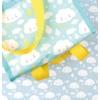 Kép 4/6 - A Little Lovely Company hűtőtáska, FELHŐ