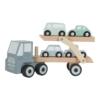 Kép 3/5 - Little Dutch fa játék kamion - adventure kék