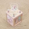 Kép 4/5 - Little Dutch fa készségfejlesztő kocka - adventure pink