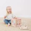 Kép 5/5 - Little Dutch fa készségfejlesztő kocka - adventure pink