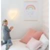 Kép 2/3 - A Little Lovely Company neonlámpa, SZÍV