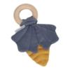 Kép 1/4 - Little Dutch rágóka Pure & Nature - mustársárga / kék