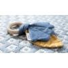 Kép 4/4 - Little Dutch rágóka Pure & Nature - mustársárga / kék