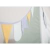 Kép 4/5 - Little Dutch indián sátor szőnyeggel és zászlókkal - menta