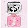 Kép 4/5 - A Little Lovely Company uzsonnástáska/hűtőtáska, PANDA - csillámos