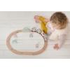 Kép 2/5 - Little Dutch fa játékvonat sínpályával - adventure pink