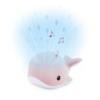 Kép 1/5 - ZAZU WALLY bálna kivetítő nyugtató dallamokkal - rózsaszín