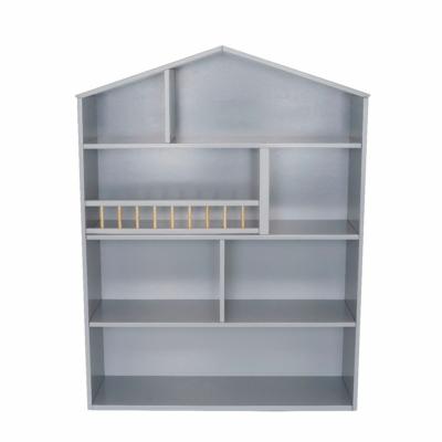 Házikó polc - ezüstszürke