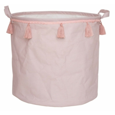 Játéktároló pasztell rózsaszín Jabadabado