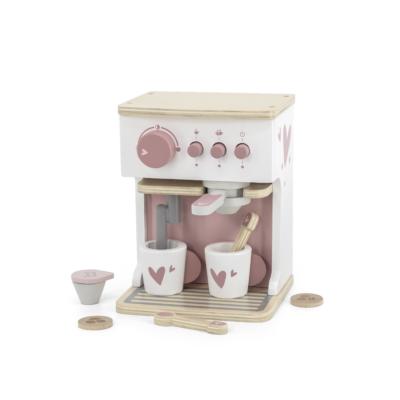 Label Label fa játék kávéfőző szett - rózsaszín