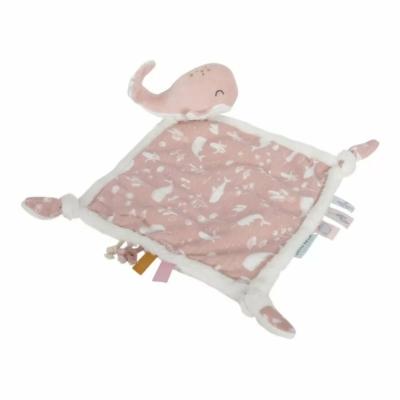 Little Dutch szundikendő - pink bálna