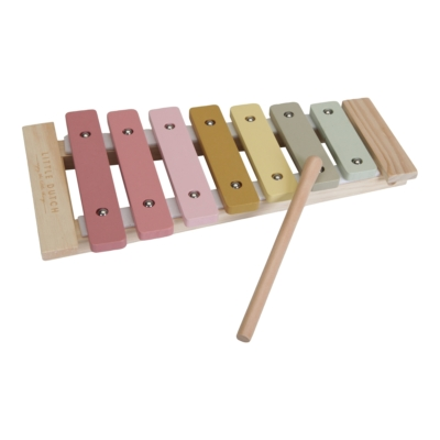 Little Dutch fa játék xilofon gyerekeknek - pink
