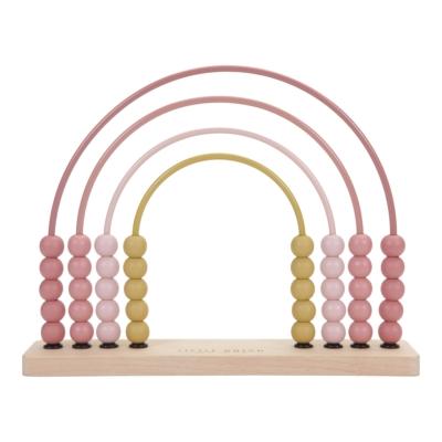 Little Dutch abacus szivárvány játék - adventure pink
