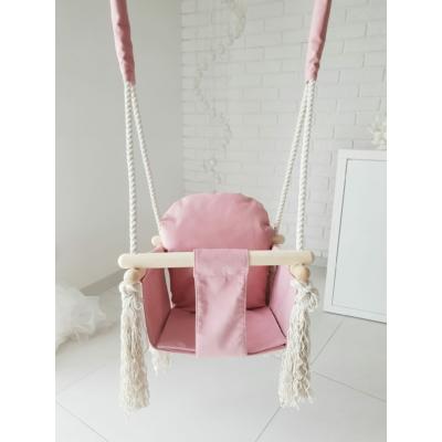 Nyuszi hinta gyerekeknek - pink