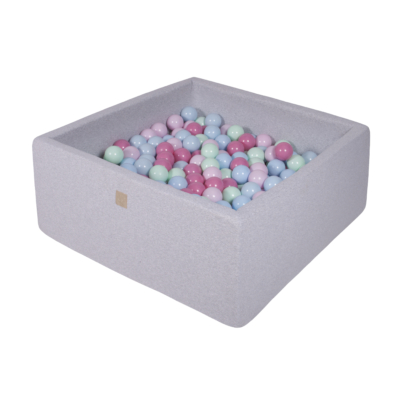 Szögletes labdamedence 200 labdával - Icecream