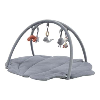 Little Dutch játszószőnyeg játékhíddal - tengeri állatos, kék