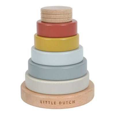 Little Dutch fa toronyépítő - Pure & Nature