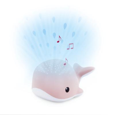 ZAZU WALLY bálna kivetítő nyugtató dallamokkal - rózsaszín