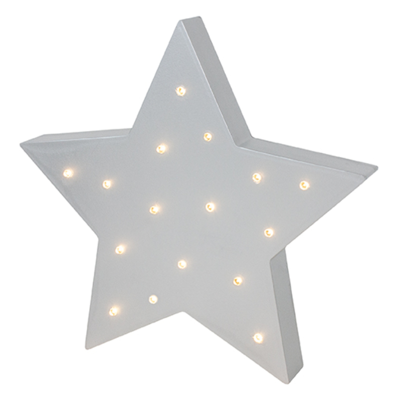 Csillag alakú LED-es lámpa Jabadabado