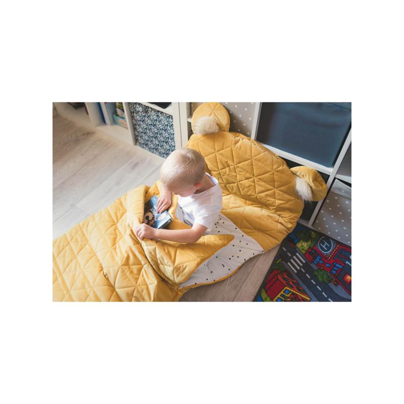 Dream Catcher hálózsák - mustársárga 170x75