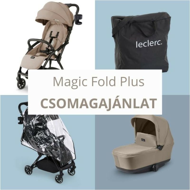 Leclerc Magic Fold Plus babakocsi szett - Sand