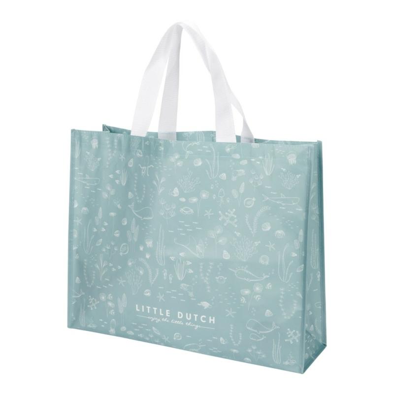 Little Dutch bevásárlótáska - óceán kék