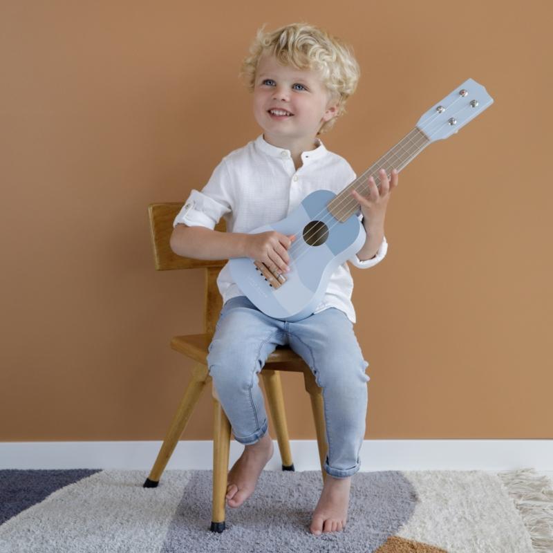 Little Dutch játék gitár - kék