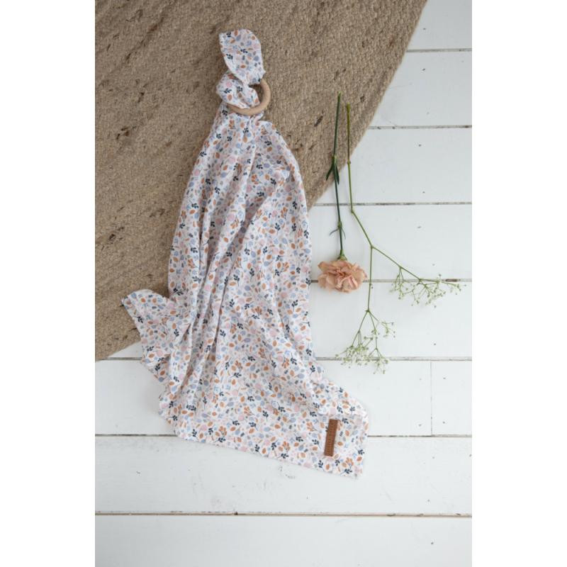 Textilpelenka 120 x 120 cm - tavaszi virágok
