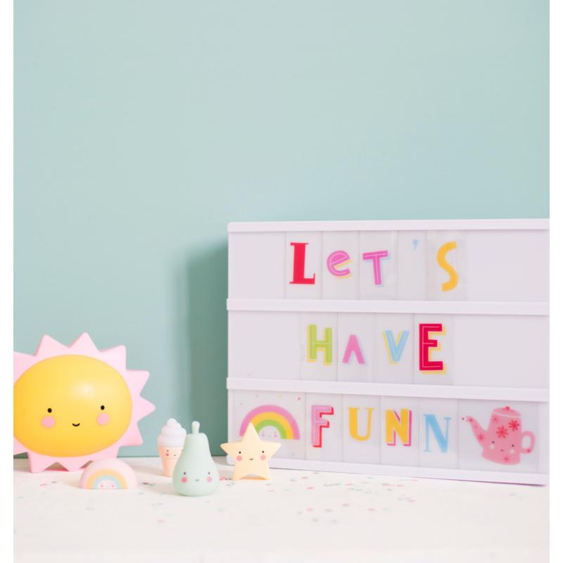 A Little Lovely Company mini éjjeli fény NAP