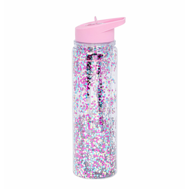 LLC kulacs XL pink csillám
