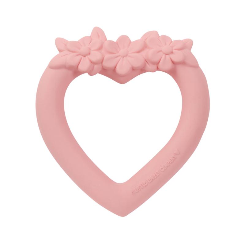 A Little Lovely Company gyűrűs szív rágóka