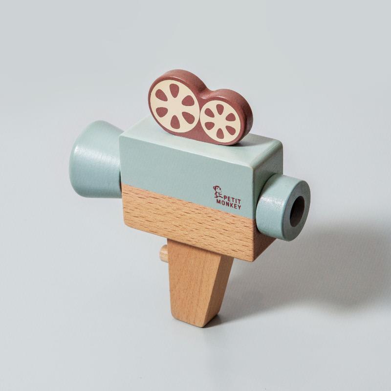 Petit Monkey fa játék kamera