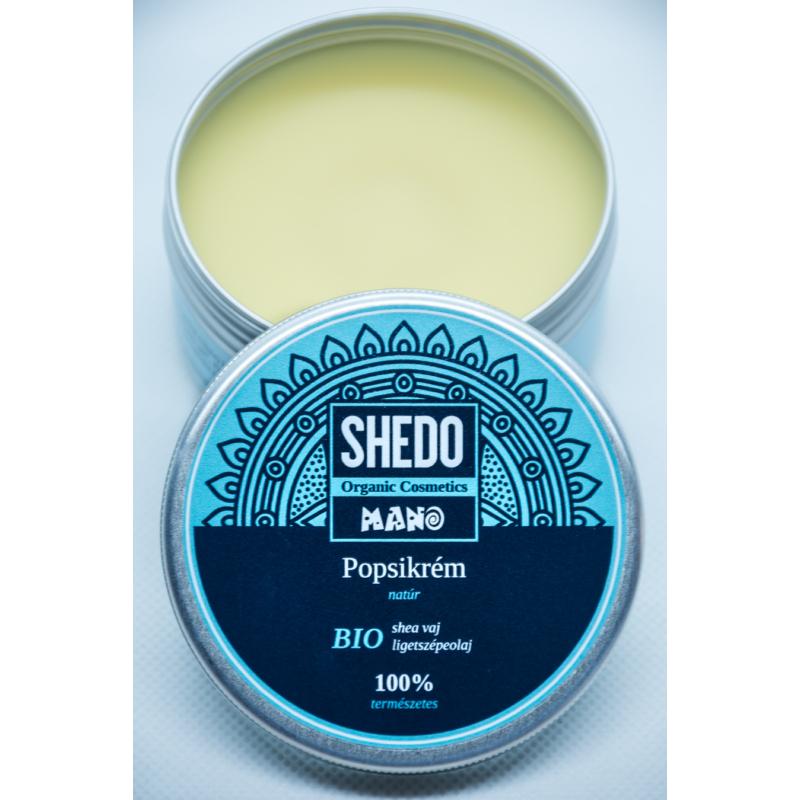Shedo Manó popsikrém  - natúr, 50 ml