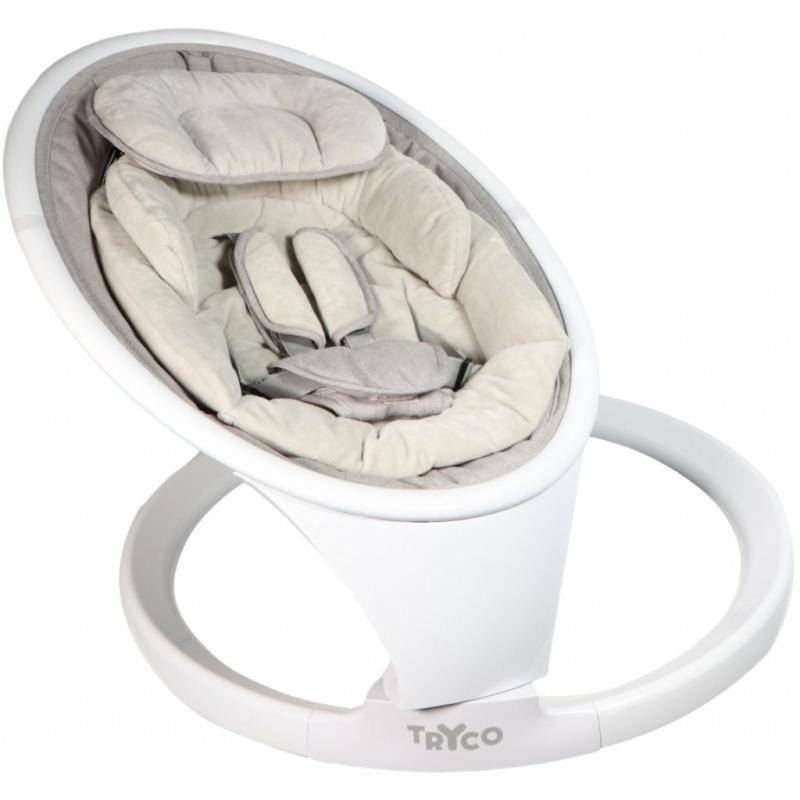 Tryco Swing Devina pihenőszék és ringató - világosszürke