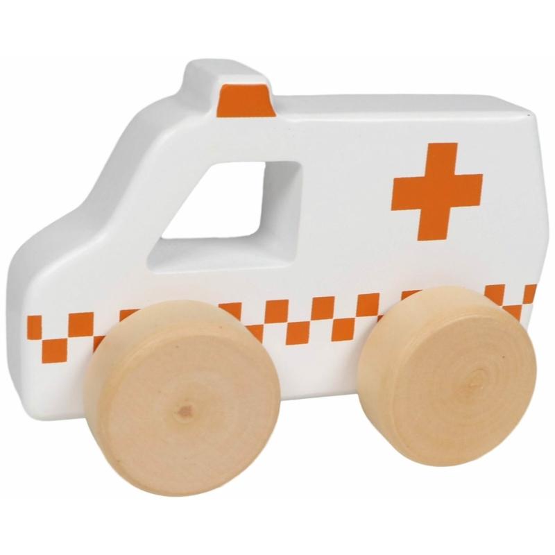 Tryco fa játék mentő autó