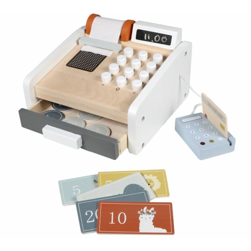 Tryco fa játék pénztárgép