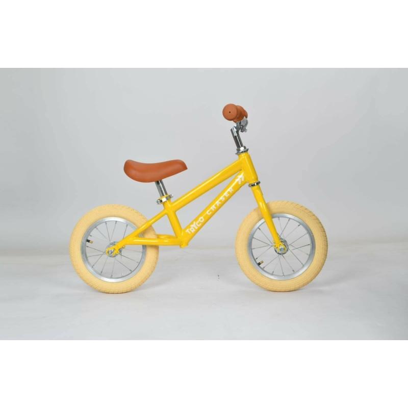 Tryco futóbicikli sárga színben