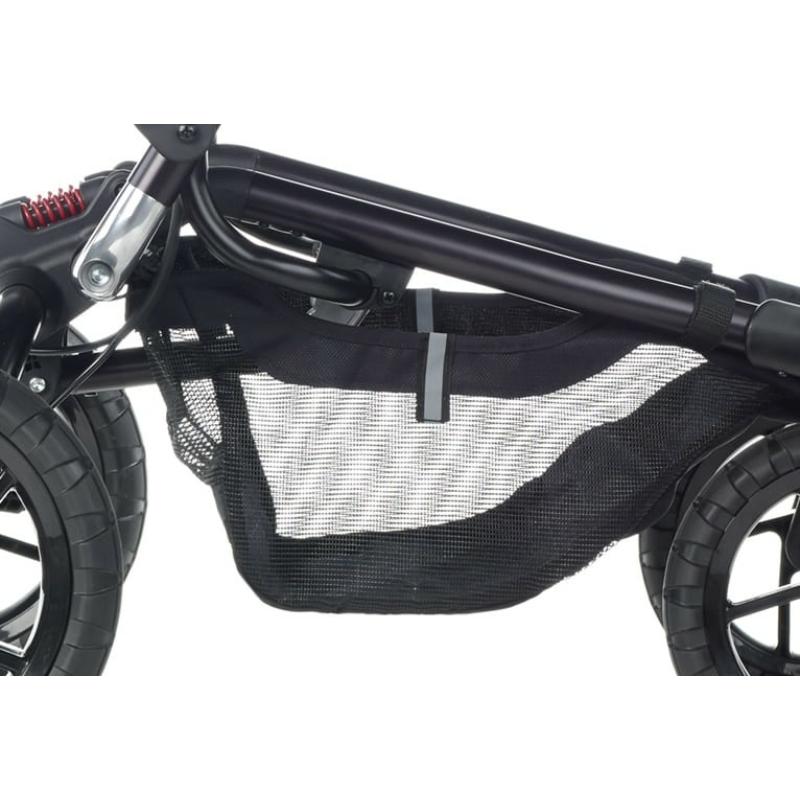 Jané Crosswalk R babakocsi + Koos iSize R1 hordozó + Micro mózes - T34 Jet Black 2020