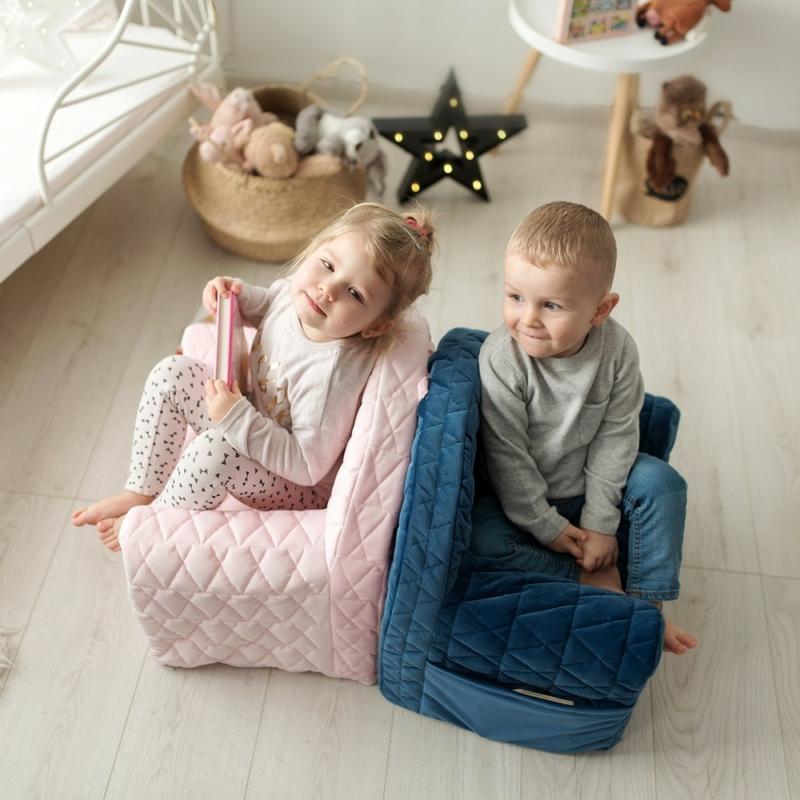 Albero Mio Velvet Kids babafotel - V102 Szürke