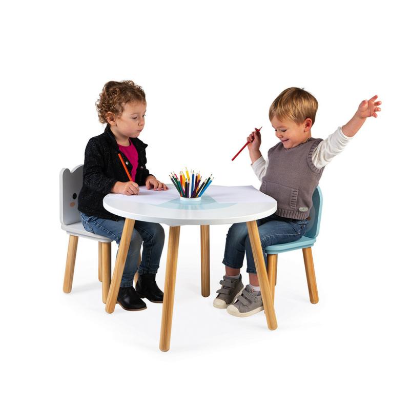 Janod gyerekasztal 2 székkel