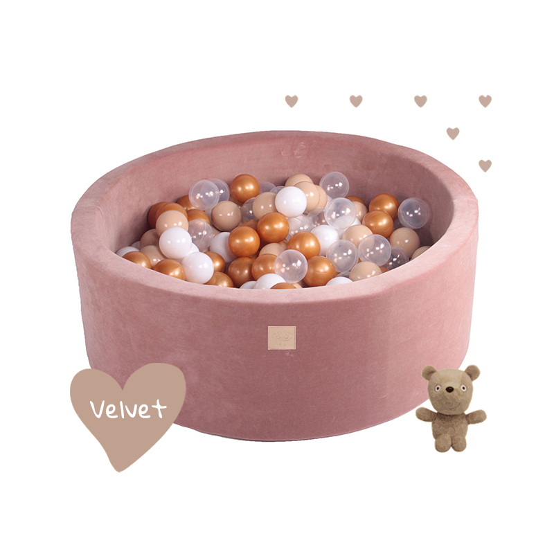 Velvet labdamedence 250 labdával - Teddy Bear