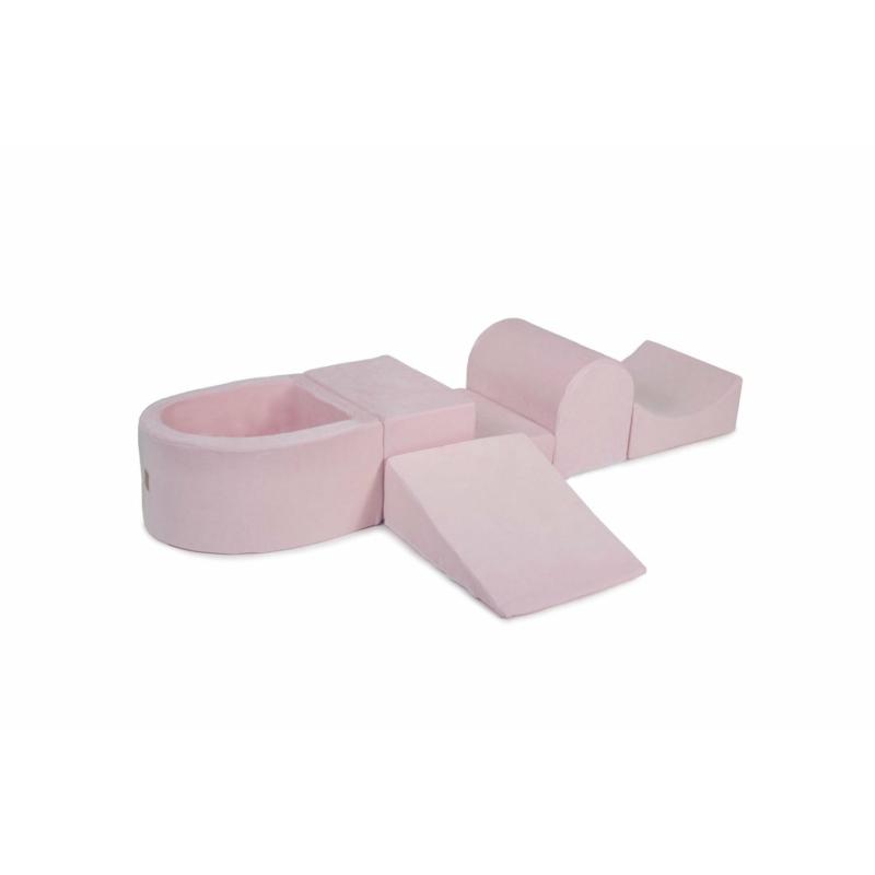 Extra 5 részes labdamedenceszett - pink