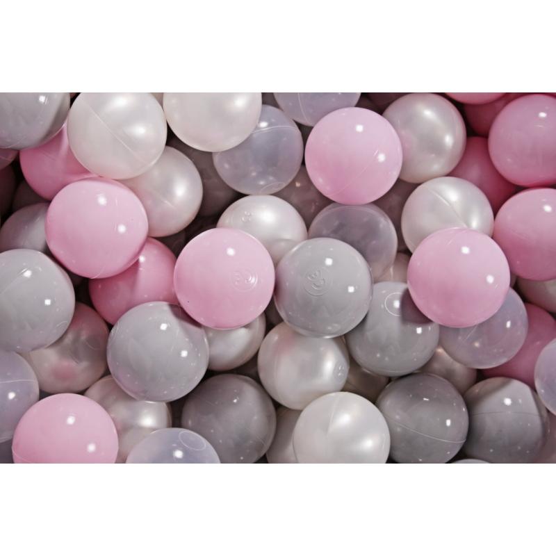 8. gyöngyház, szürke, pasztell rózsaszín, átlátszó