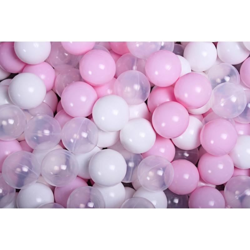 9. pasztell rózsaszín, átlátszó, fehér