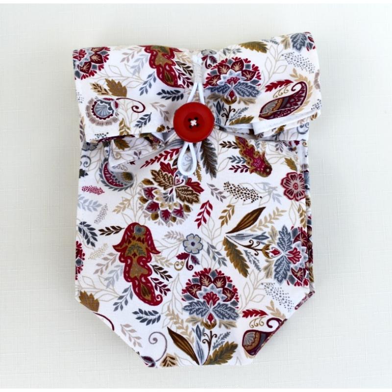 Uzsiszütyő - virágos